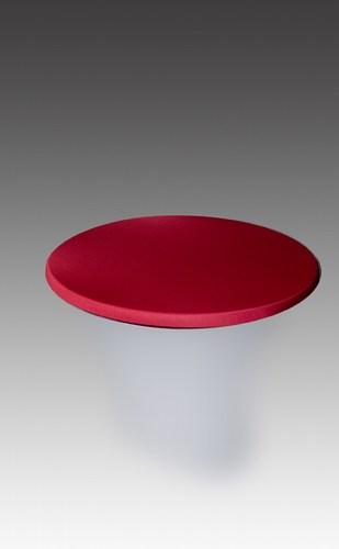 hussen haube in bordeaux f r stehtisch 70 cm stil mietm bel geschirr und zeltverleih. Black Bedroom Furniture Sets. Home Design Ideas